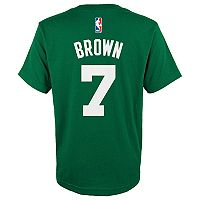 Boys 8-20 Boston Celtics Jaylen Brown Name and Number Tee