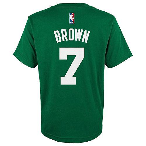 Boys 8-20 Boston Celtics Jaylen Brown Name and Number Tee