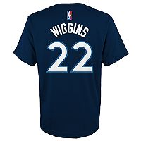 Boys 8-20 Minnesota Timberwolves Andrew Wiggins Name and Number Tee