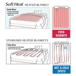 Soft Heat Velvet Plush Warming Heated Blanket