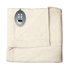Soft Heat Velvet Plush Warming Heated Blanket