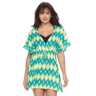 Women's Portocruz Summer Ikat Surplice Cover-Up Dress