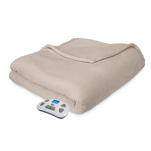 Serta Comfort Plush Heated Blanket