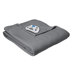 Serta Fleece Heated Blanket