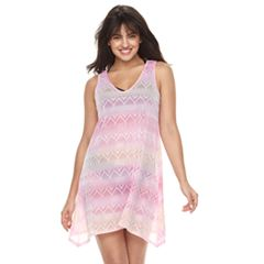 Women's Portocruz Ombre Tie-Back Sharkbite Cover-Up Dress