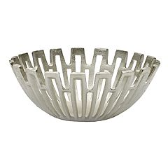 Mikasa Silver Sun Ray Decorative Bowl