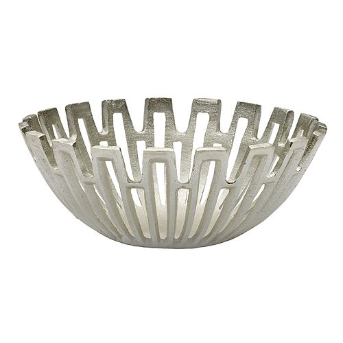 Mikasa Silver Sun Ray Decorative Bowl