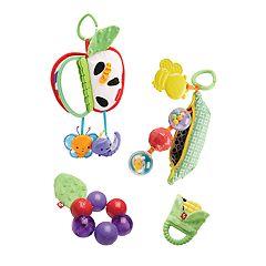 Fisher-Price Fruits & Veggies Plush Gift Set