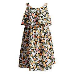 Girls 4-6x Youngland Pineapple Popover Woven Dress