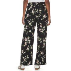Women's Studio 253 Printed Soft Wide-Leg Pants