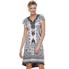 Women's Apt. 9® Medallion High-Low Shift Dress