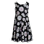 Girls 4-6x Youngland Daisy/Tie-Dye Reversible Knit Dress