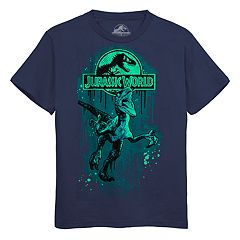 Boys 8-20 Jurassic World Paint Tee