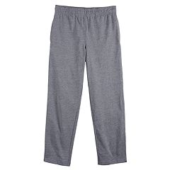 Boys 8-20 & Husky Tek Gear Lightweight Jersey Open Bottom Pant