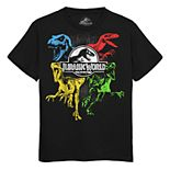Boys 8-20 Jurassic World Dinosaur Tee