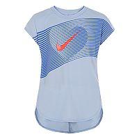 Girls 4-6x Nike Dri-FIT Line Heart Graphic Tee
