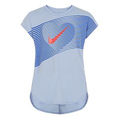Girls 4-6x Nike Dri-FIT Line Heart Graphic Tee