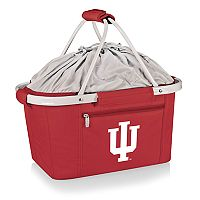 Picnic Time Indiana Hoosiers Metro Insulated Picnic Basket