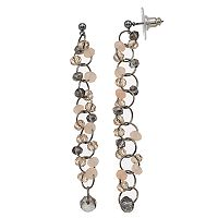 Simply Vera Vera Wang Beaded Linear Drop Earrings