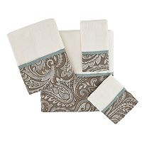 Madison Park Whitman Jacquard 6 pc Bath Towel Set