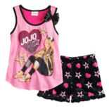 Girls 4-12 JoJo Siwa Tank Top & Shorts Pajama Set