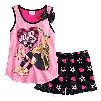Girls 4-12 JoJo Siwa Tank Top & Shorts Pajama Set