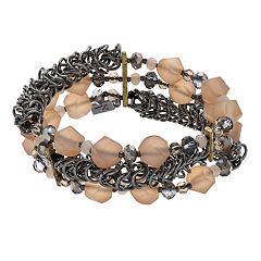 Simply Vera Vera Wang Multi Row Stretch Bracelet