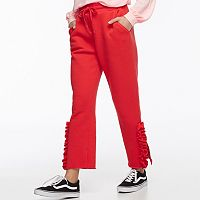 k/lab Ruffled Sweatpants
