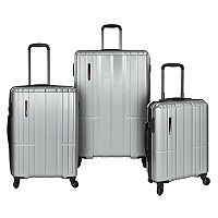 Traveler's Choice Wellington 3-Piece Hardside Spinner