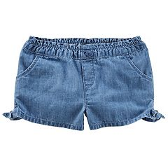 Toddler Girl OshKosh B'gosh® Knot-Hem Denim Shorts