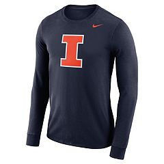 Men's Nike Illinois Fighting Illini Dri-FIT Logo Tee