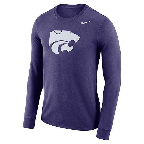 Men's Nike Kansas State Wildcats Dri-FIT Logo Tee
