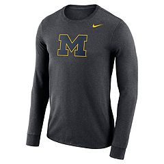 Men's Nike Michigan Wolverines Dri-FIT Logo Tee