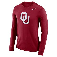 Men's Nike Oklahoma Sooners Dri-FIT Logo Tee