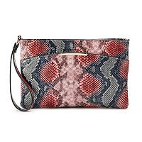 Jennifer Lopez Heather Snake Wristlet