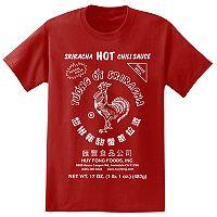 Big & Tall Sriracha Logo Tee