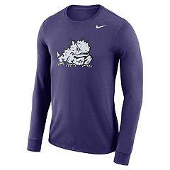 Men's Nike TCU Horned Frogs Dri-FIT Logo Tee