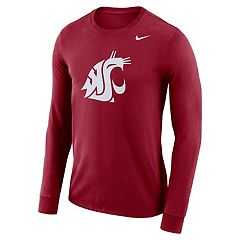 Men's Nike Washington State Cougars Dri-FIT Logo Tee