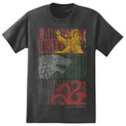 Big & Tall Game of Thrones House Banners Tee