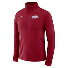 Men's Nike Arkansas Razorbacks Element 1/2-Zip Pullover Top