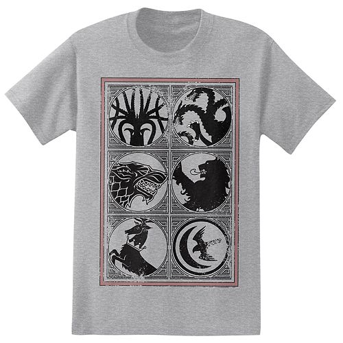 Big & Tall Game of Thrones House Sigils Tee