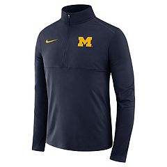 Men's Nike Michigan Wolverines Element 1/2-Zip Pullover Top