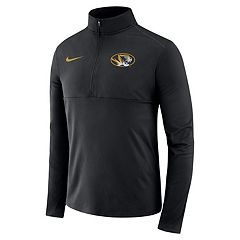 Men's Nike Missouri Tigers Element 1/2-Zip Pullover Top