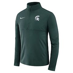 Men's Nike Michigan State Spartans Element 1/2-Zip Pullover Top