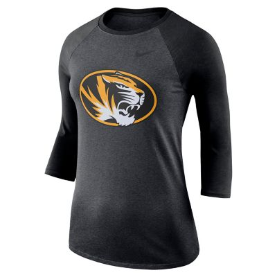 Women's Nike Missouri Tigers Baseball Tee