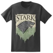 Big & Tall Game of Thrones House Stark Tee