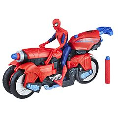 Marvel Spider-Man 3-in-1 Spider Cycle & Spider-Man Figure Set