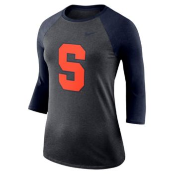 Women's Nike Syracuse Orange Baseball Tee