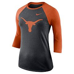Women's Nike Texas Longhorns Baseball Tee