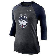 Women's Nike UConn Huskies Baseball Tee